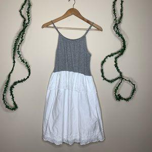 Gap Kids Eyelet Ruffle Summer Dress